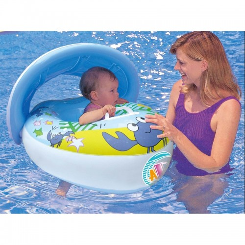 ABC ADJUSTABLE SUNSHADE FLOAT BLUE