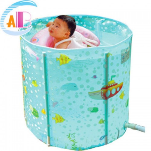 ABC BABY SPA POOL L LIGHT BLUE + NECK RING