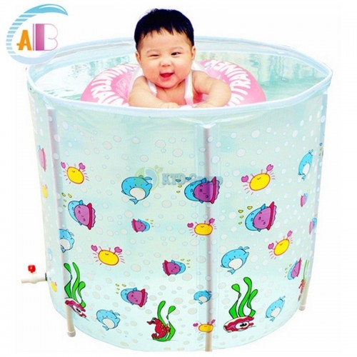 ABC BABY SPA POOL L WHITE + NECK RING