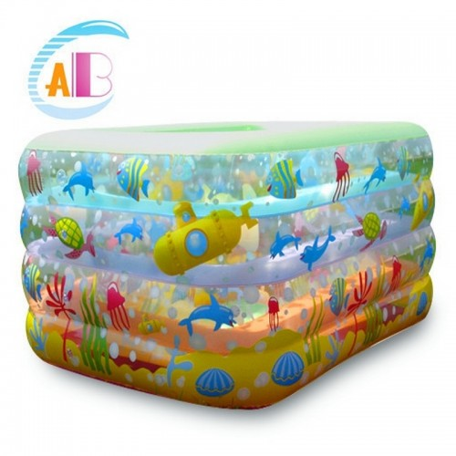 ABC INFLATABLE POOL RECTANGLE L