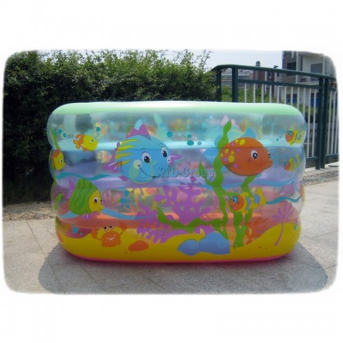 ABC INFLATABLE POOL RECTANGLE M