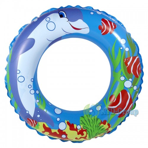 ABC SWIM RING DOLPHIN BLUE