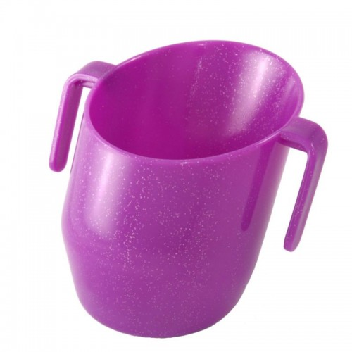DOIDY CUP PURPLE SPARKLE
