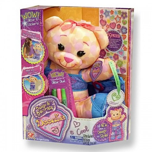 DOODLE BEAR DESIGN & DECORATE SCRIBBLES