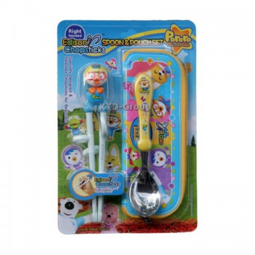 EDISON CHOPSTICK WITH SPOON POUCH PORORO