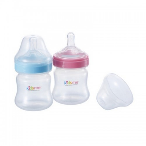 KIDSME MILK BOTTLE ANTI COLIC 150ML PINK