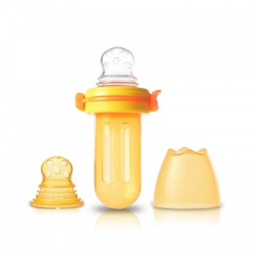 KIDSME BABY FOOD SQUEEZER ORANGE