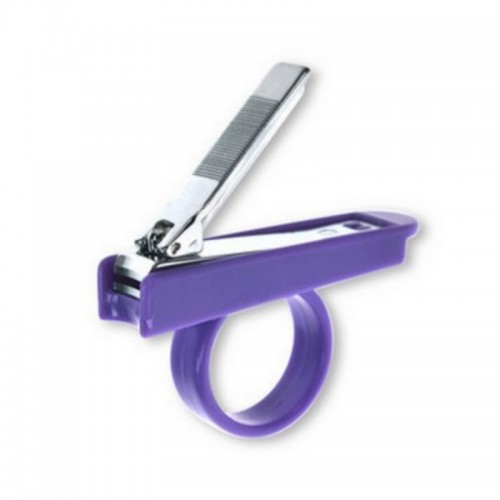 KIDSME NAIL CLIPPER WITH PURPLE HOLDER