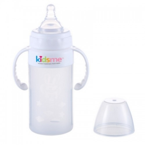 KIDSME MILK BOTTLE SILICONE 240ML