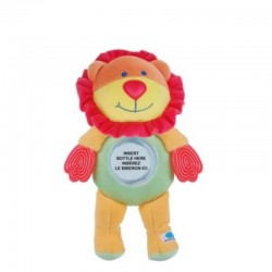 PETITE BABY BOTTLE HOLDER SAFARI LION