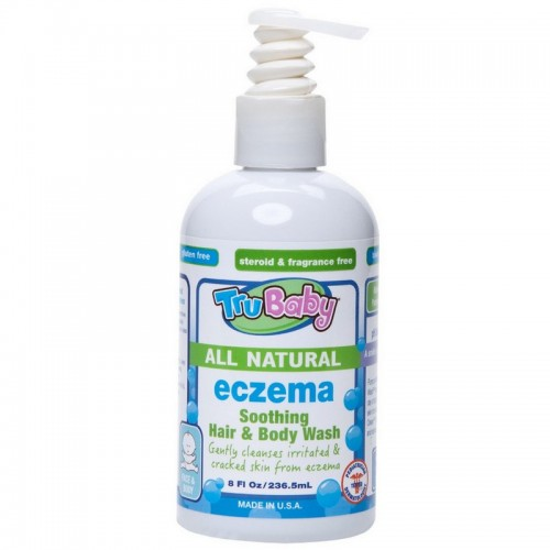 TRUBABY ECZEMA SOOTHING HAIR & BODY WASH 8OZ
