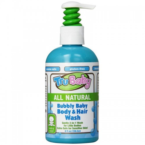 TRUBABY BUBLY BABY BODY & HAIR WASH 8OZ